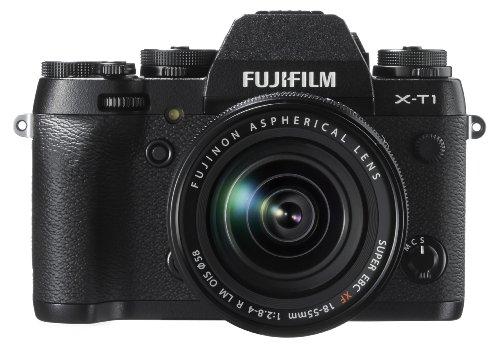 FUJIFILM レンズ交換式プレミアムカメラキットX-T1+XF18-55mmキットブラック F X-T1B/1855KIT