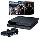 Contenu : Pack PS4 500 Go C Noire + Destiny : Le Roi Des Corrompus Call of Duty : Black Ops III + Steelbook exclusif Amazon