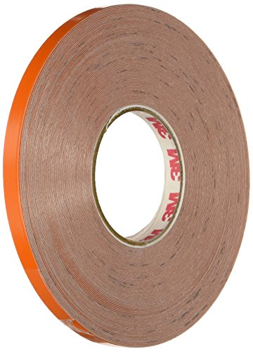 3M Scotchlite Reflective Striping Tape, Orange, .25-Inch by 50-Foot