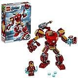 LEGO 76140 MarvelSuperHeroes LeRobotd'IronMan, Figurine de Combat...