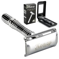 Kanzy Shaving Razors for Men Double Edge Safety Razor Stainless Steel