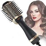 Hair Dryer Brush Hot Air Brush One-Step Hair Dryer Volumizer 3 in 1 Salon Negative Ion Ceramic...