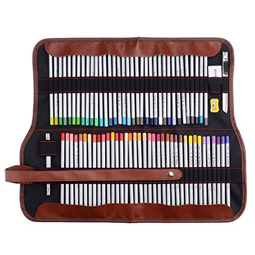 Marco Raffine 7100,72matite colorate da artista con astuccio in tela arrotolabile, per disegno,...