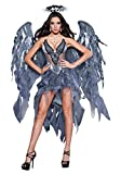 InCharacter Costumes Women's Dark Angel's Desire Costume, Grey/Silver, Large