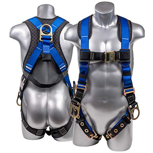 Palmer Safety Full Body Harness with 5 Point...
