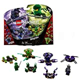 LEGO-NINJAGO Toupies Spinjitzu Lloyd vs. Garmadon Jeu de construction,...
