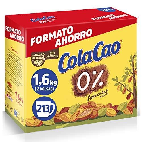 ColaCao 0% Azúcares Añadidos, 1.6 Kg