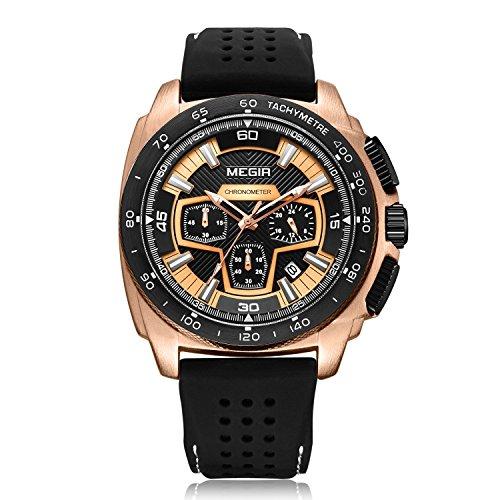 Megir - Herren -Armbanduhr- MG2056