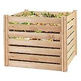 Greenes Fence RCCOMP36 Cedar Composter, 23.25 Cu ft / 173.92 gallons, Natural