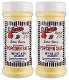 Bolner's Fiesta Brand Butter Flavored Popcorn Salt, 8 Ounce Shaker (Pack of 2)