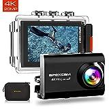 [2019 Nouvelle] Apexcam Pro EIS Caméra Sport 4K 20MP WiFi 170 °...