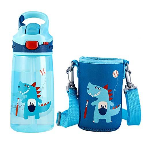 Wenlia Tasse de paille pour enfants, sans BPA Bouteilles d'eau Pailles,...