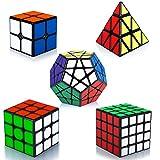 Maomaoyu Rubiscube Speed Cube ,Cube de Vitesse Pack de 5,Ensemble de Cubes 2x2...