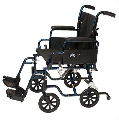 The Transformer Lightweight Wheelchair Seat Size: 20' W