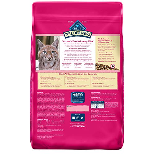 Product Image 2: Blue Buffalo Wilderness High Protein, Natural Adult Dry Cat Food, Salmon 11-lb