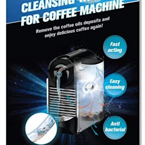CleanHike Espresso Machine Cleaning Tablets - Descaler Coffee Maker Cleaner (30 Tablets), FDA Approved