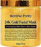 Mererke_Pretty 24K Gold Facial Mask Anti Aging Care Anti Wrinkle Anti...