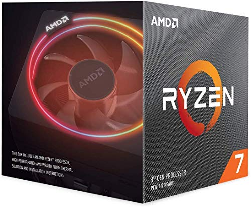 AMD Ryzen 7 3700X with Wraith Prism cooler 3.6GHz 8コア / 16スレッド 36MB 65W【国内正規代理店品】