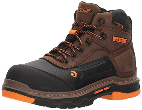 Wolverine Men's Overpass 6' Composite Toe Waterproof Work Boot