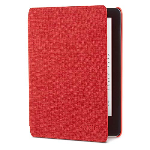 Kindle Fabric Cover - Punch Red (10th Gen - 2019 release onlywill not fit Kindle Paperwhite or Kindle Oasis).