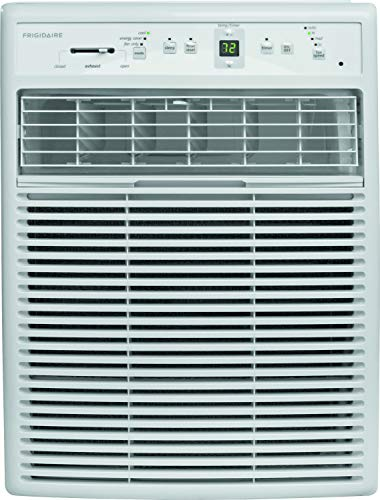 Frigidarie FFRS0822S1 Heavy-Duty Window Air Conditioner for Slider or Casement windows - 8,000 BTU