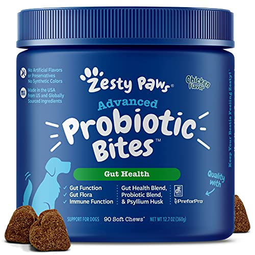 Probiotic for Dogs - with Natural Digestive...