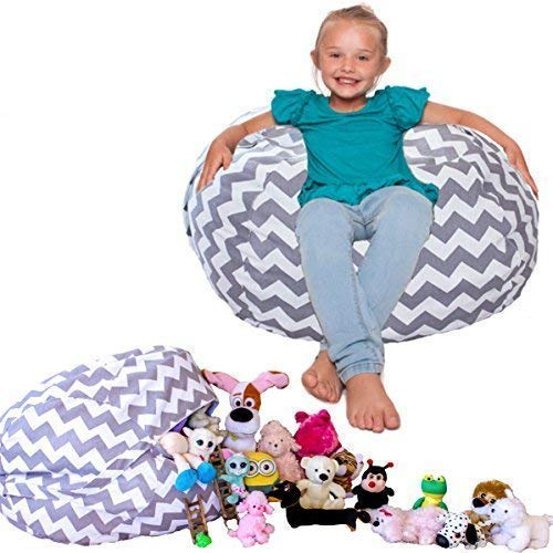 Lilly's Love Stuffed Animal Bean Bag Chair Cover- Popular...