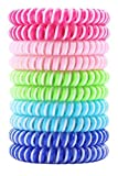 2X Strength Mosquito Repellent Bug Bracelets, Citronella Wristbands, Perfect for Travel, Camping, Hiking, RVing, BBQs, Patios