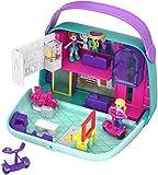 Polly Pocket Cofre Bolso Shopping, Muñeca con Accesorios (Mattel GCJ86) , color/modelo surtido