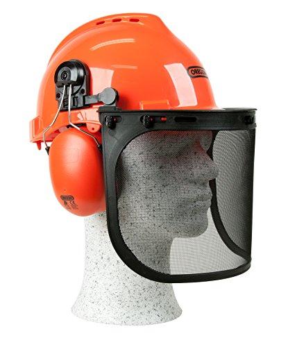 Oregon Elmetto di protezione con visiera e paraorecchie Yukon resistente agli urti, 562412