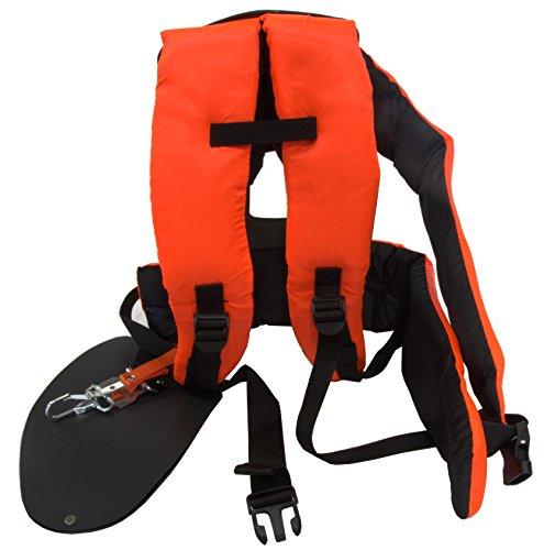 Bricoferr BFK0032 - Imbracatura professionale imbottito per decespugliatore con protezione lombare