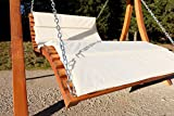 ASS Design Hollywoodschaukel Doppelliege aus Holz 'ARUBA' - 7