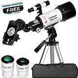 Télescope Astronomique - Portable et Puissant 16x-120x - Facile à Monter...