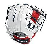 Easton Tournament Elite, Baseball Glove 11.5', RHT, White/Red/Navy, I Web, TE115USA, Multicolor, Medium
