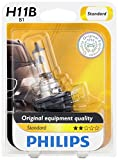 Philips 12363B1 H11B Standard Headlight Bulb, 1 Pack