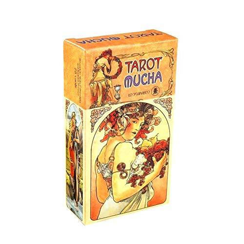 KOOLIFE The Mucha Tarot Cards Deck Popular Fortune Telling...