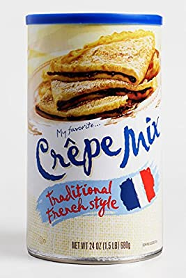 Mix up a batch of this crepe mix and feel as if you're dining at a fine Parisian bistro This French-inspired treat lets you achieve perfectly balanced sweet or savory crepes that are a delicious delight for any time of day Great for Breakfast, Holida...