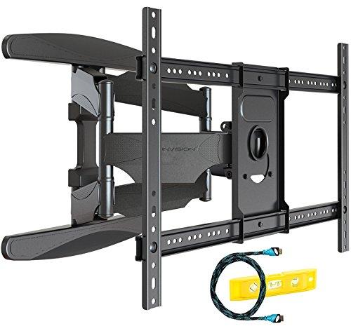 Invision Supporto a Parete per TV Ultra Forte - per 94-178 cm (37-70 Pollici) LED LCD Plasma e Curvi...