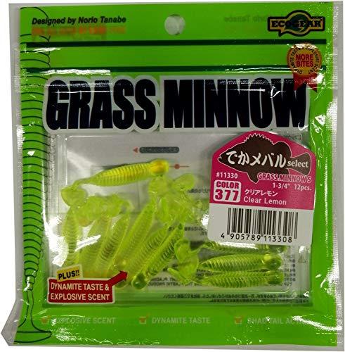 ecogear Artificiale Grass Minnow S Giallo Unica