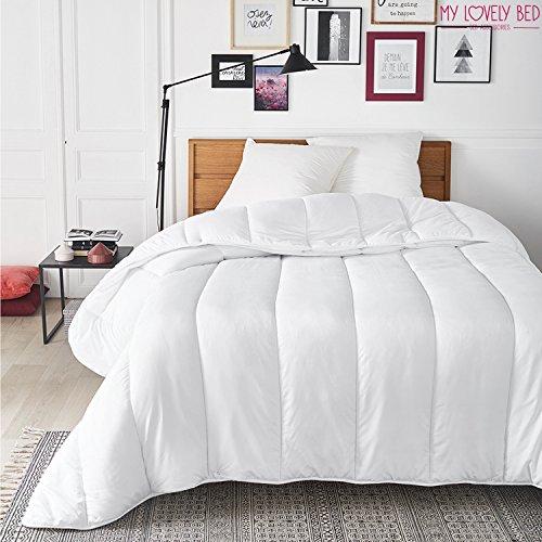 My Lovely Bed - Piumone Quattro Stagioni - Matrimoniale (220x240 cm) - 2 Trapunte con bottoni a pressione - 3 in 1 - Adatto a tutte le Stagioni - Lavabile