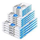 Boxlegend Sacs de Rangement Sous Vide Lot de 12 Type épais 4*100x80 +4*80x60 + 4*60x40cm Housses de...