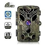 SUNTEKCAM Caméra de Chasse WiFi APP Caméra de Surveillance Étanche 44...