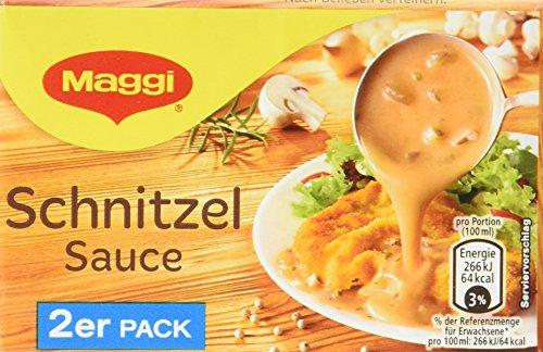 Maggi Schnitzel Sauce, 2er Pack, ergibt 2 x 250 ml, 18er Pack (18 x 500 ml)