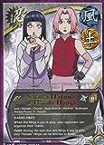 Naruto Card - Sakura Haruno & Hinata Hyuga 729 - Broken Promise - Rare - 1st Edition