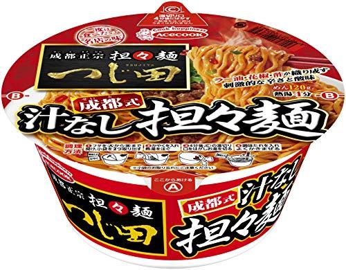エースコック 一度は食べたい名店の味 つじ田 成都式汁なし担々麺 150g ×12個