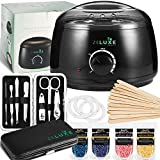 Waxing Kit For Women - Wax Warmer - Home Waxing Kit For Hair Removal - Electric Wax Heater - Hard Scented Wax Beans - For Waxing Eyebrows, Brazilian, Armpit, Legs - Free Manicure Set - Prime