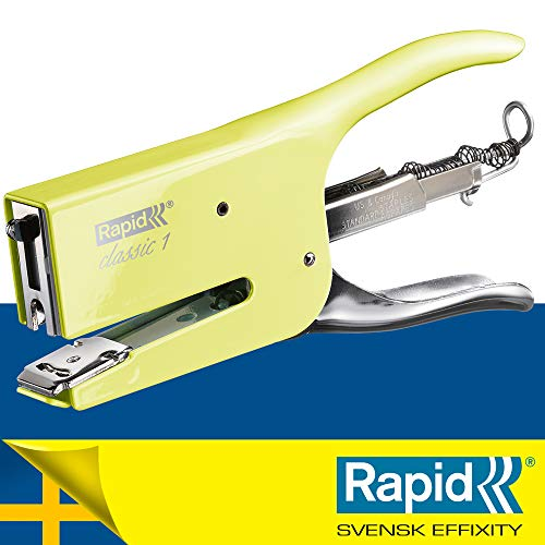 RAPID K1 CLASSIC - cucitrice a pinza - 50 fg - Mellow yellow - 5000494