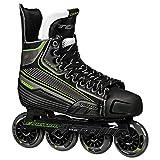 Tour Hockey Code 9 SR Inline Hockey Skate, Black/White/Red, 08
