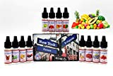 E-Líquido, 12 X 10mL E Liquido NY FLAVORS Vaper Sin Nicotina, E-Liquid...