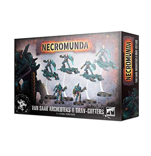 Games Workshop Necromunda Van SAAR Archeoteks & Grav Cutters